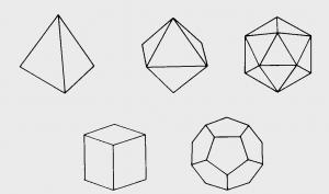 五种正立方体